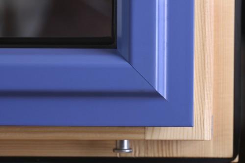 Holz-Alu-Fensterrahmen