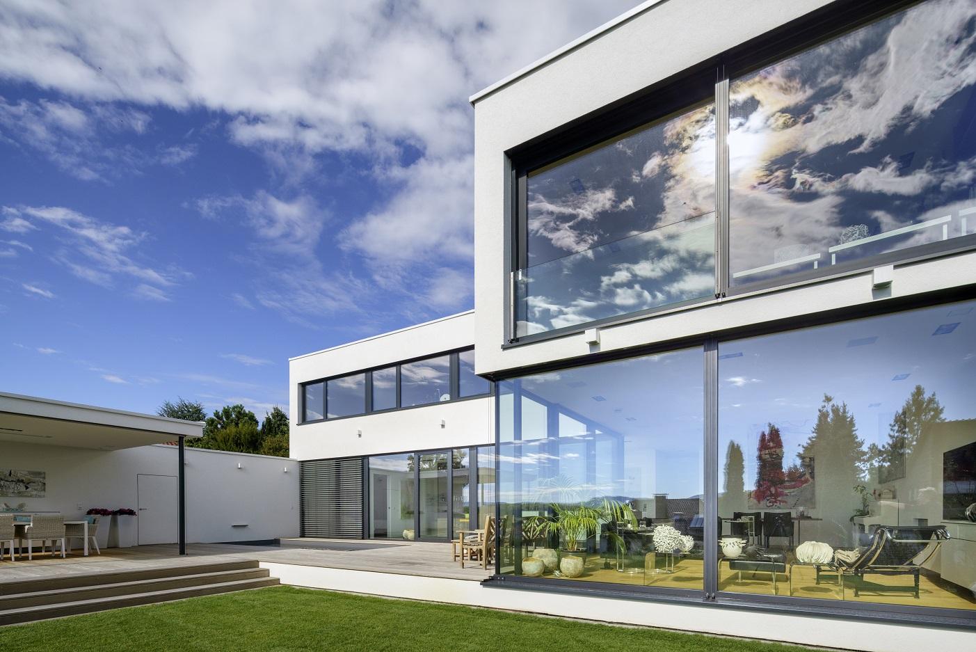 Flächenbündig   Müller & Sohn Fensterfabrik